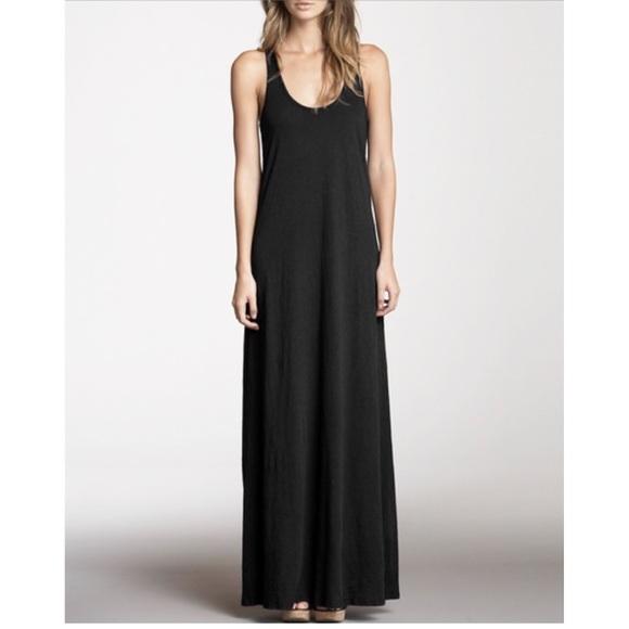 e8c2132f30 H&M Dresses | Nwt Hm Black Jersey Maxi Dress | Poshmark